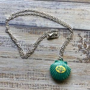 Polly Pocket Seashell Doll House Locket Necklace ✨